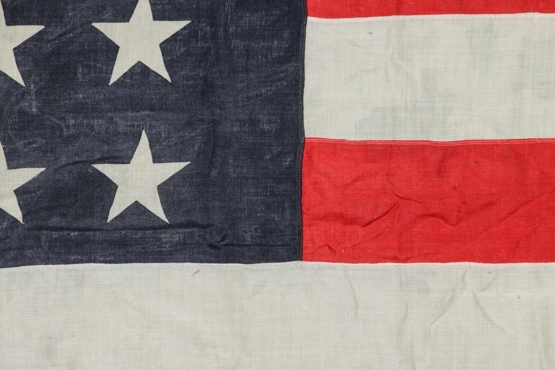 3 Large Vintage American Flags - 6