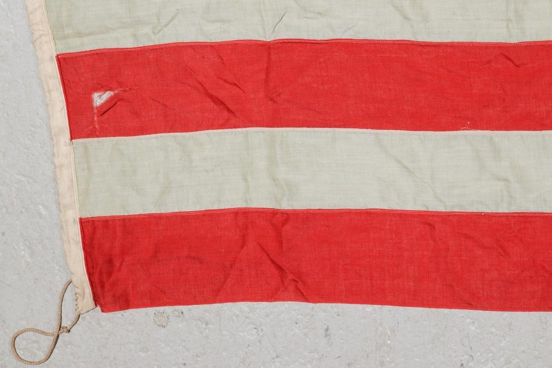 3 Large Vintage American Flags - 7