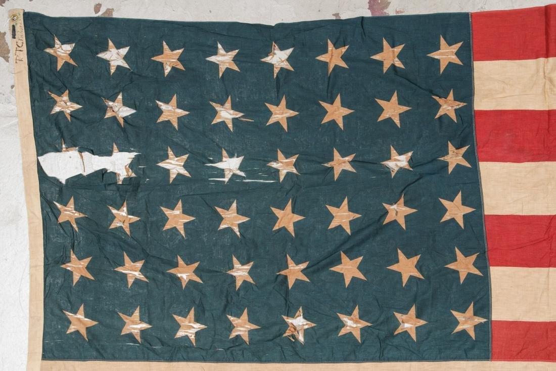 3 Large Vintage American Flags - 9