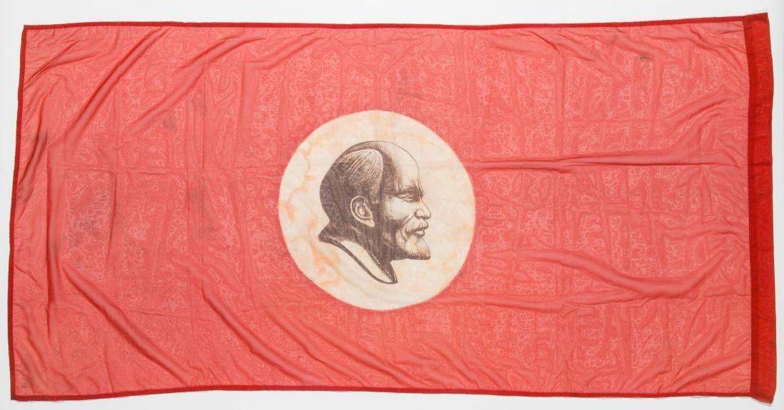 3 Soviet Era Russian USSR Flags - 2