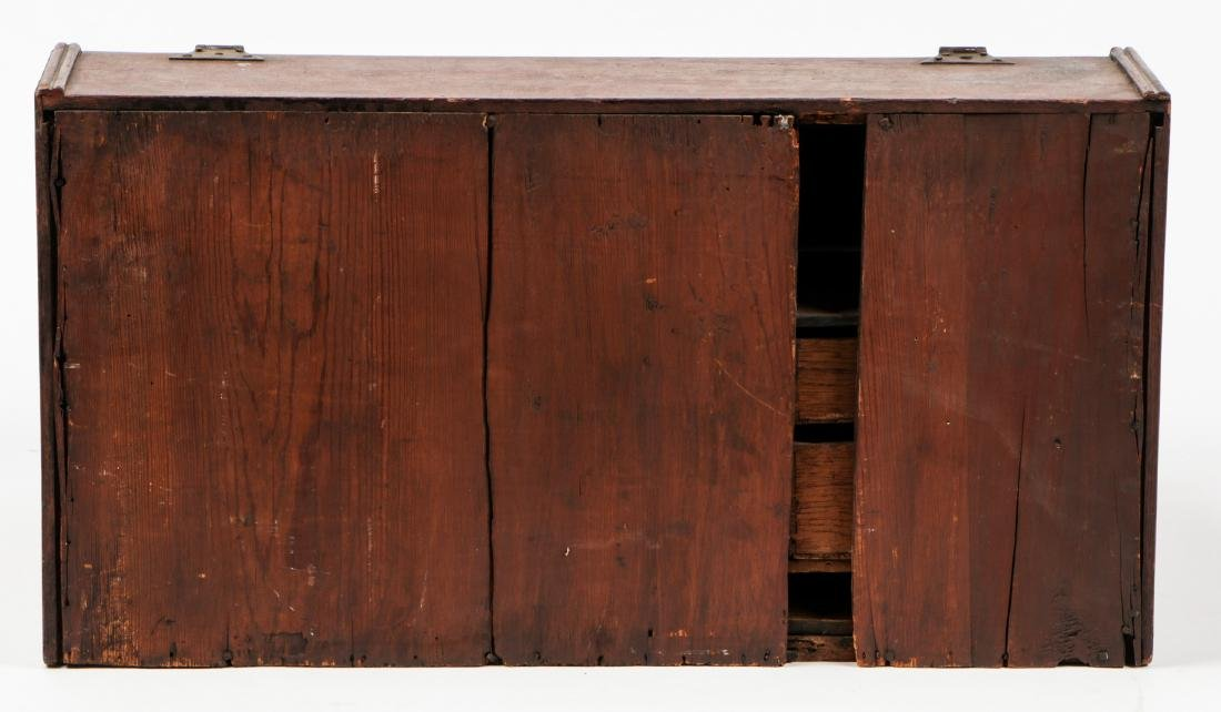 Early American Laptop Desk w. Compartments & Drawers - 4