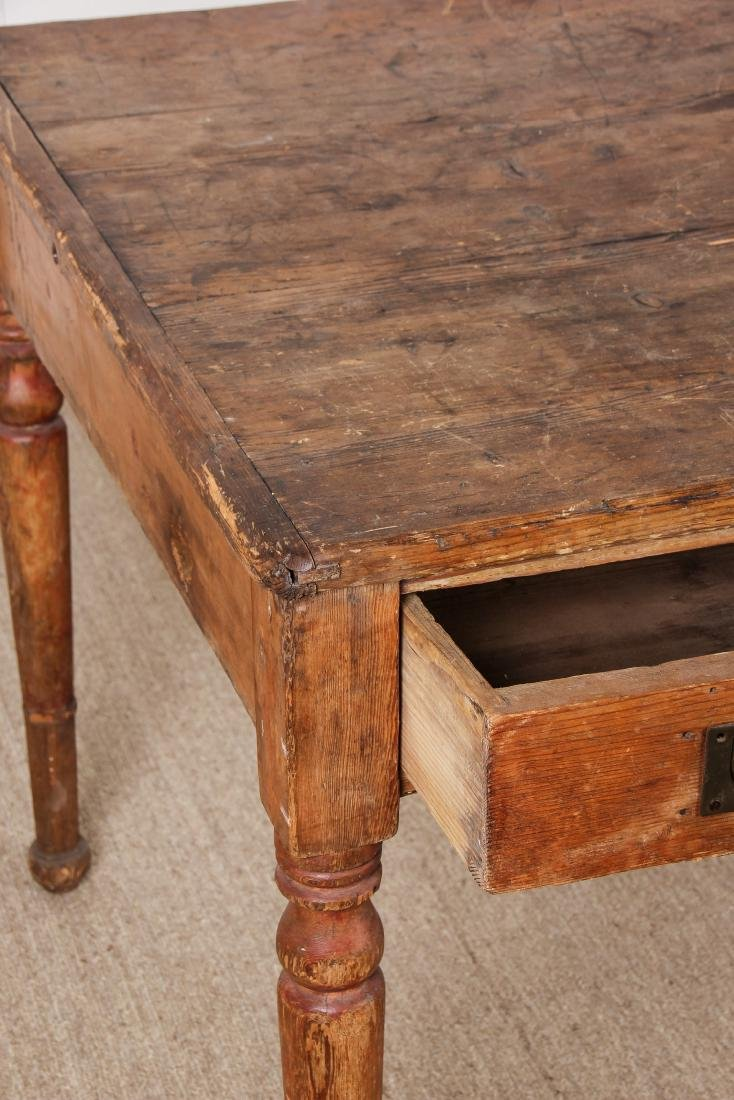 Antique Campaign Table, Ex. Calvin Klein, Ca. 1700's - 2
