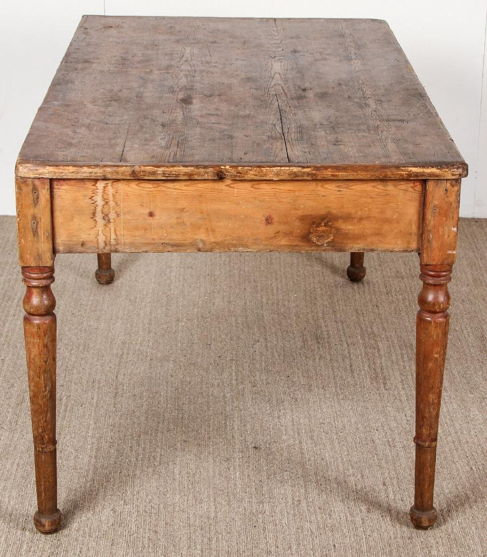 Antique Campaign Table, Ex. Calvin Klein, Ca. 1700's - 4