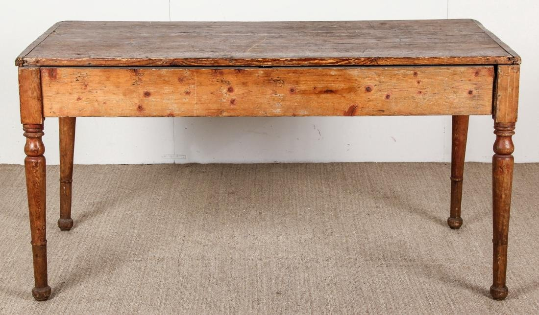 Antique Campaign Table, Ex. Calvin Klein, Ca. 1700's - 5