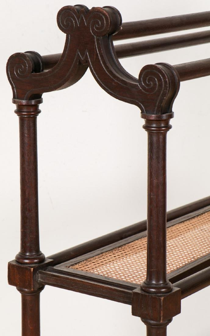 Antique English Robe Stand - 4