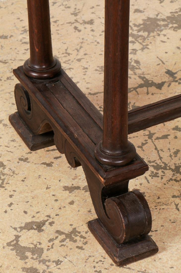 Antique English Robe Stand - 5