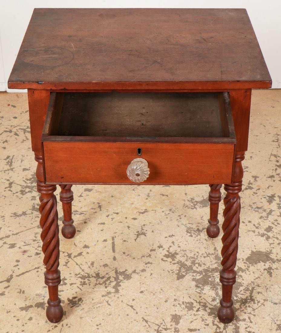 Antique American Side Table - 3