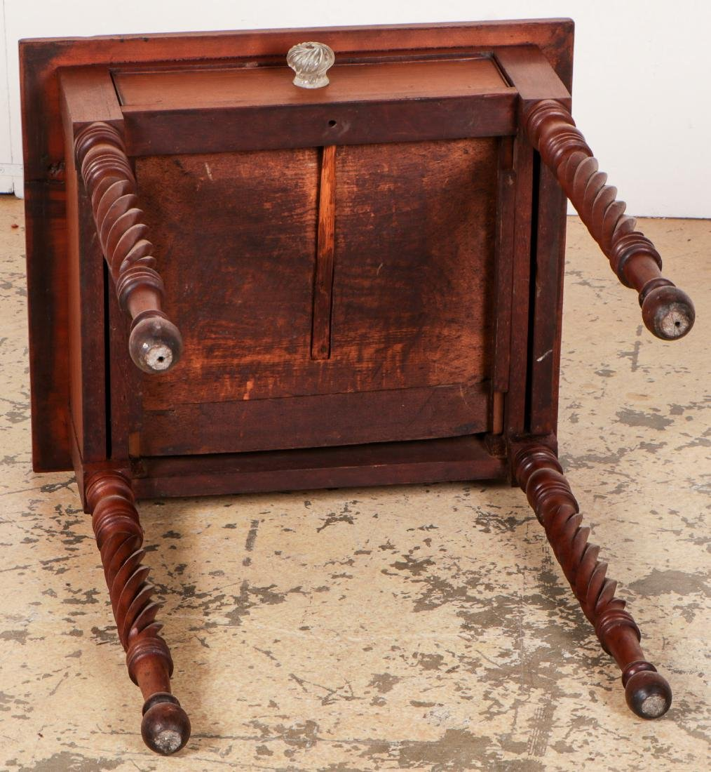 Antique American Side Table - 7