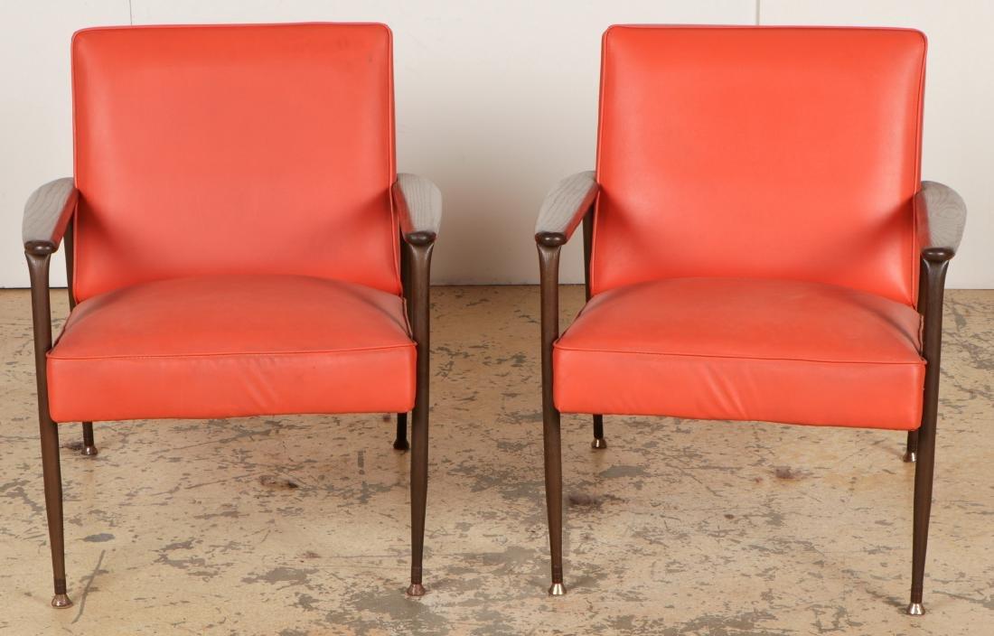 2 Mid Century Modern Chairs