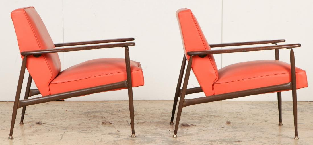 2 Mid Century Modern Chairs - 2