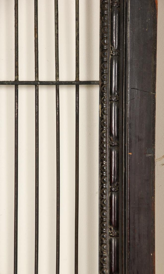 3 Antique Colonial Indochine Wood Doors, Vietnam - 2