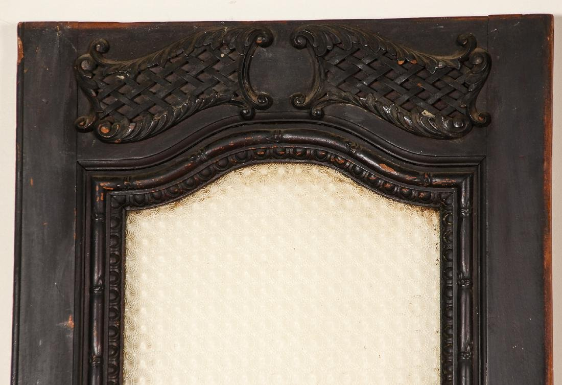 3 Antique Colonial Indochine Wood Doors, Vietnam - 3