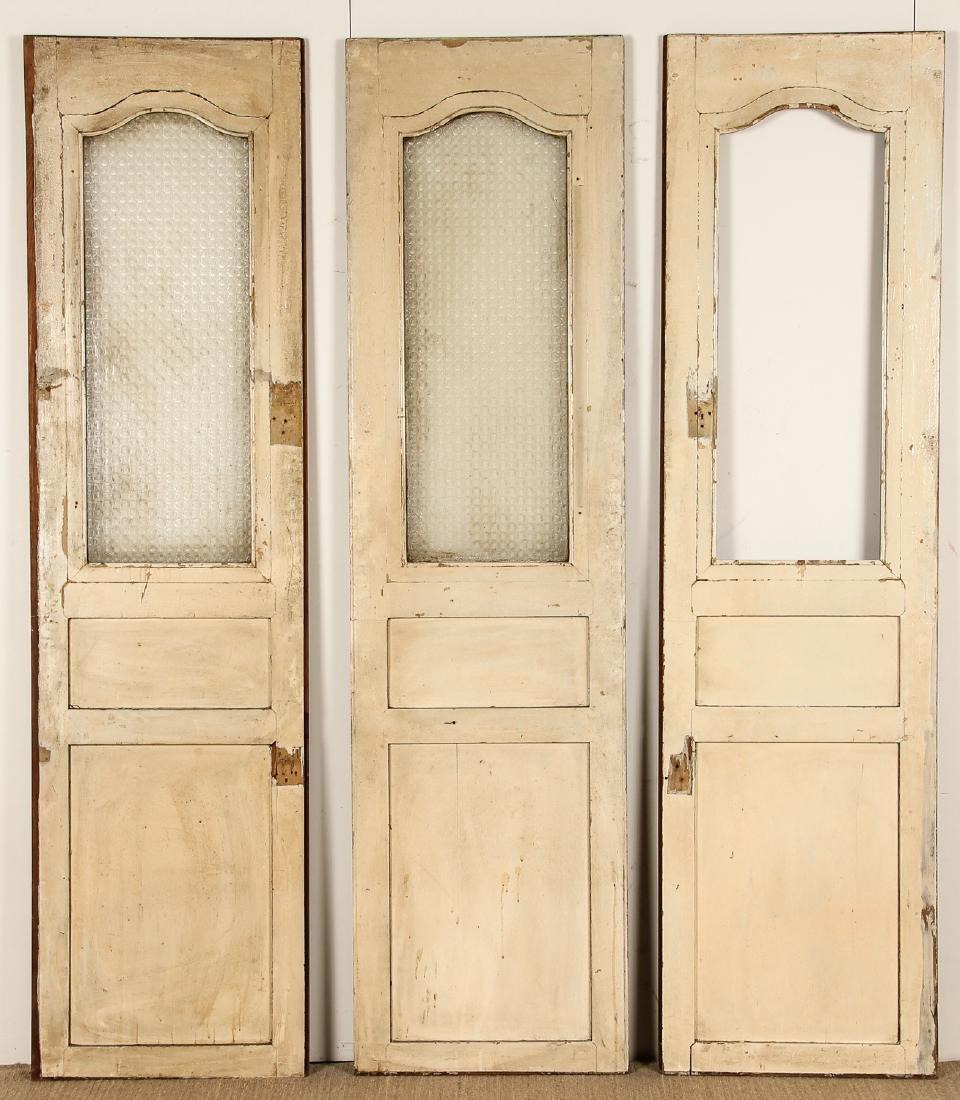 3 Antique Colonial Indochine Wood Doors, Vietnam - 4