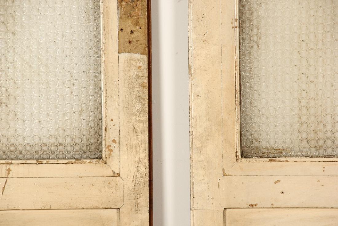 3 Antique Colonial Indochine Wood Doors, Vietnam - 5