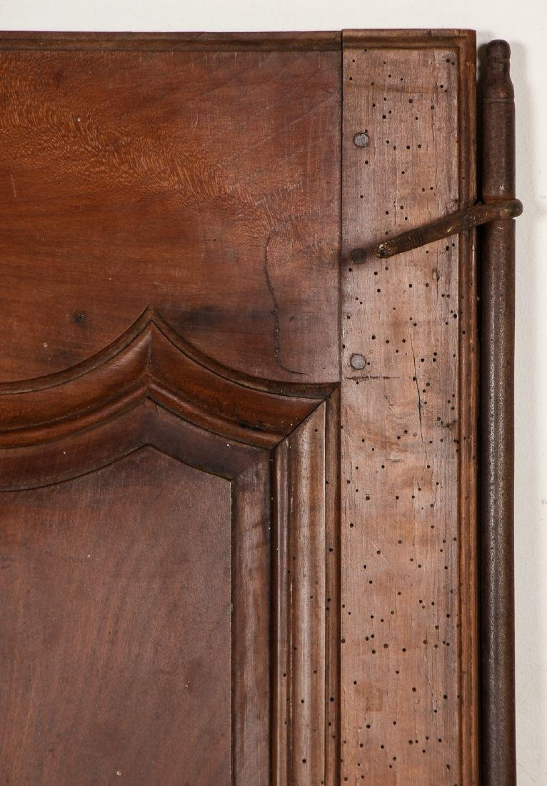3 18th Century French Walnut Armoire Doors - 3