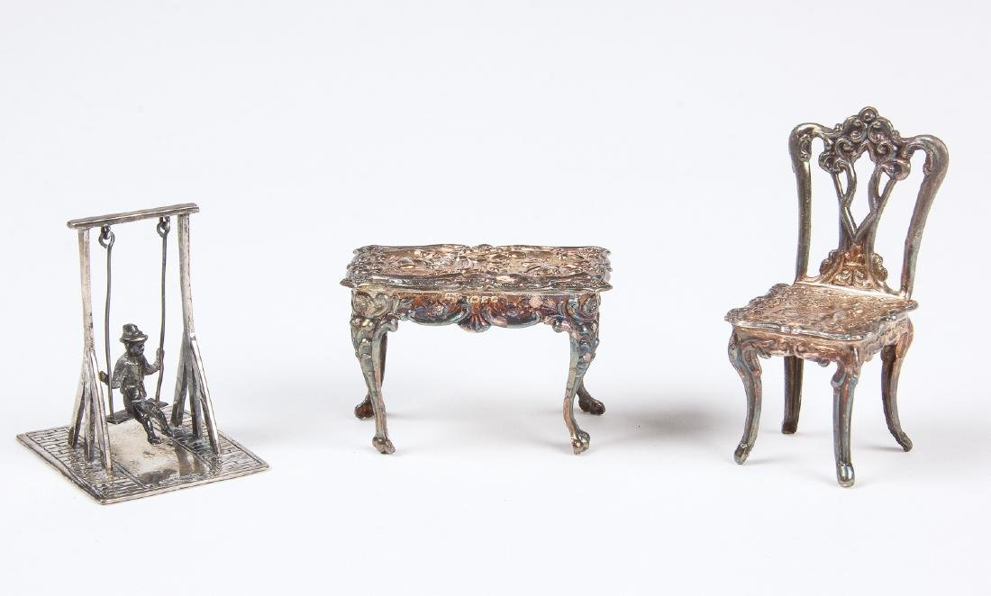 3 Dutch Sterling Miniatures