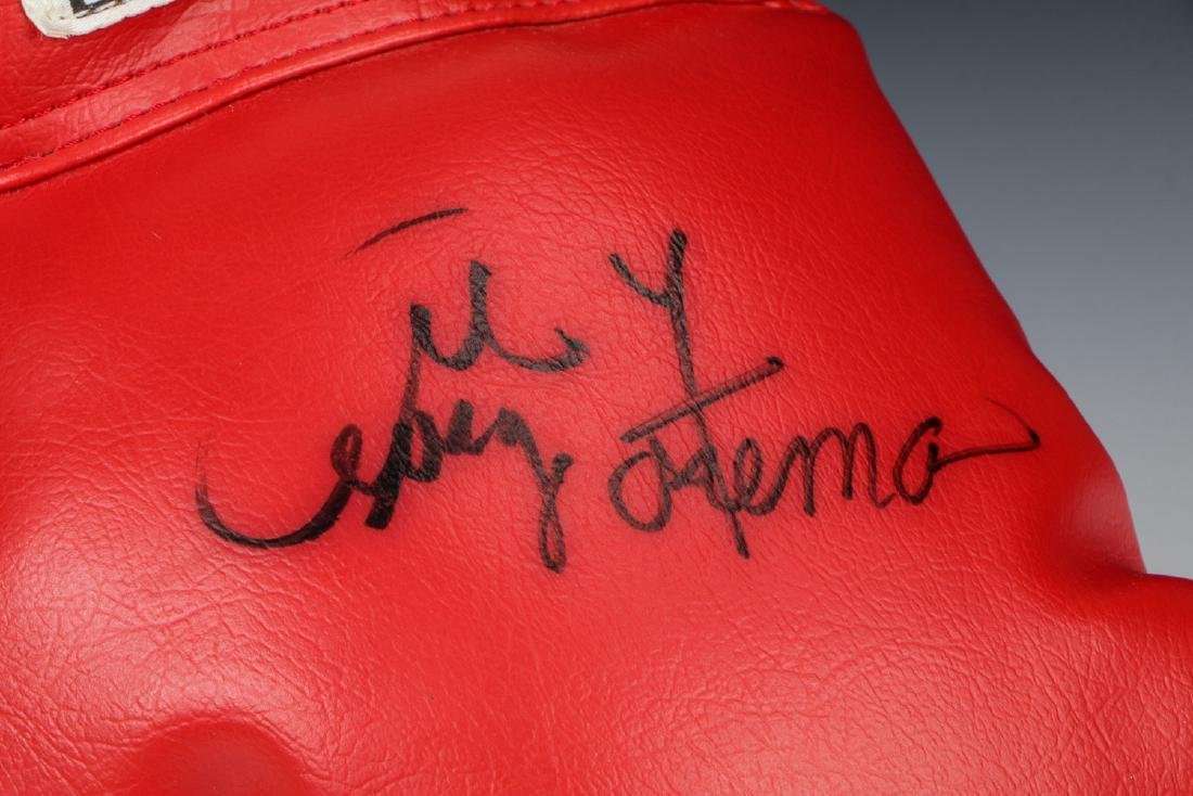 George Forman Signed Boxing Glove - 2
