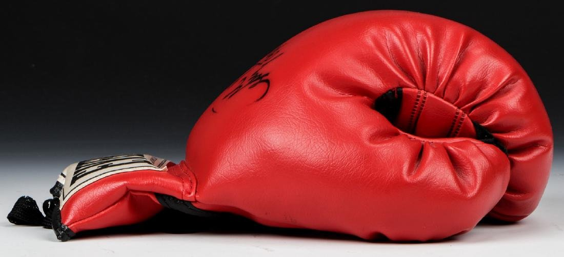 George Forman Signed Boxing Glove - 4