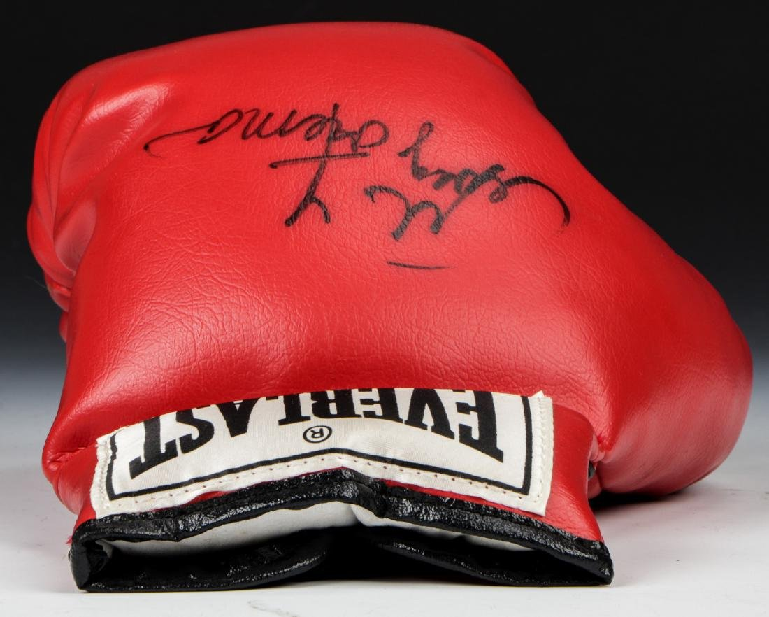 George Forman Signed Boxing Glove - 7