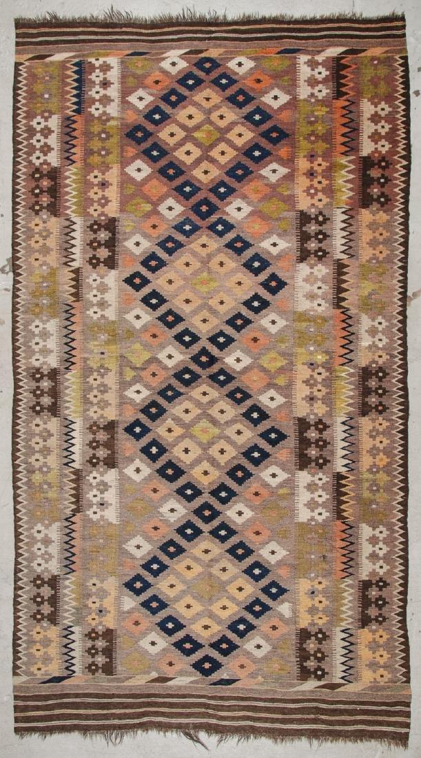 2 Old Afghan Maimana Kilims - 2