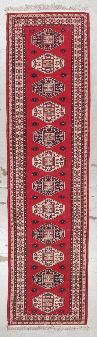 Vintage Caucasian Style Rug: 2'8'' x 10'4'' (81 x 315 - 6