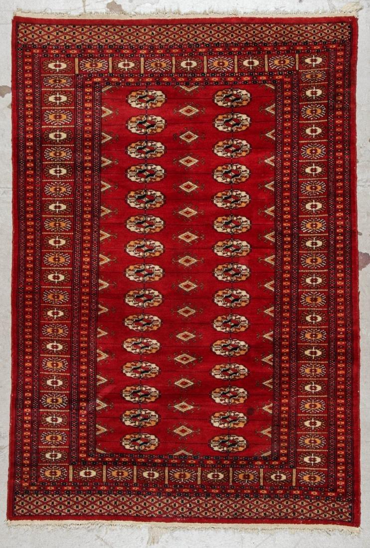 2 Vintage Bokhara Wool Rugs - 2