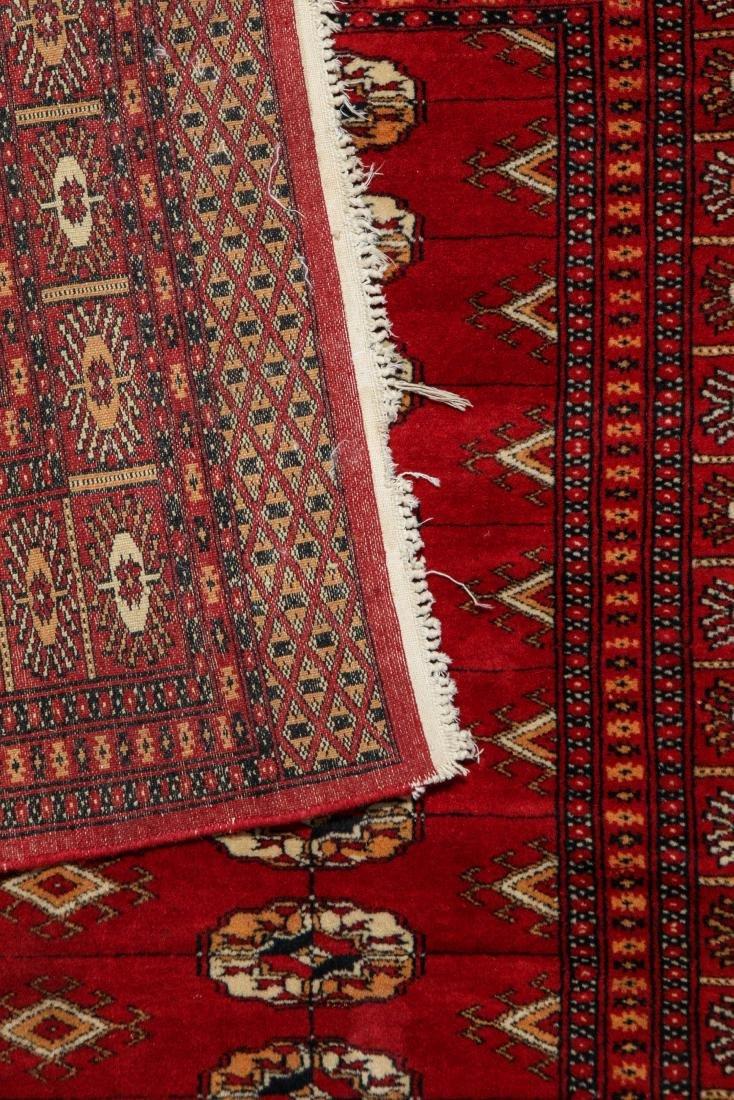 2 Vintage Bokhara Wool Rugs - 3