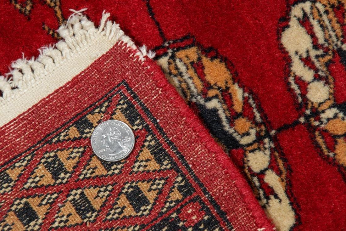 2 Vintage Bokhara Wool Rugs - 4