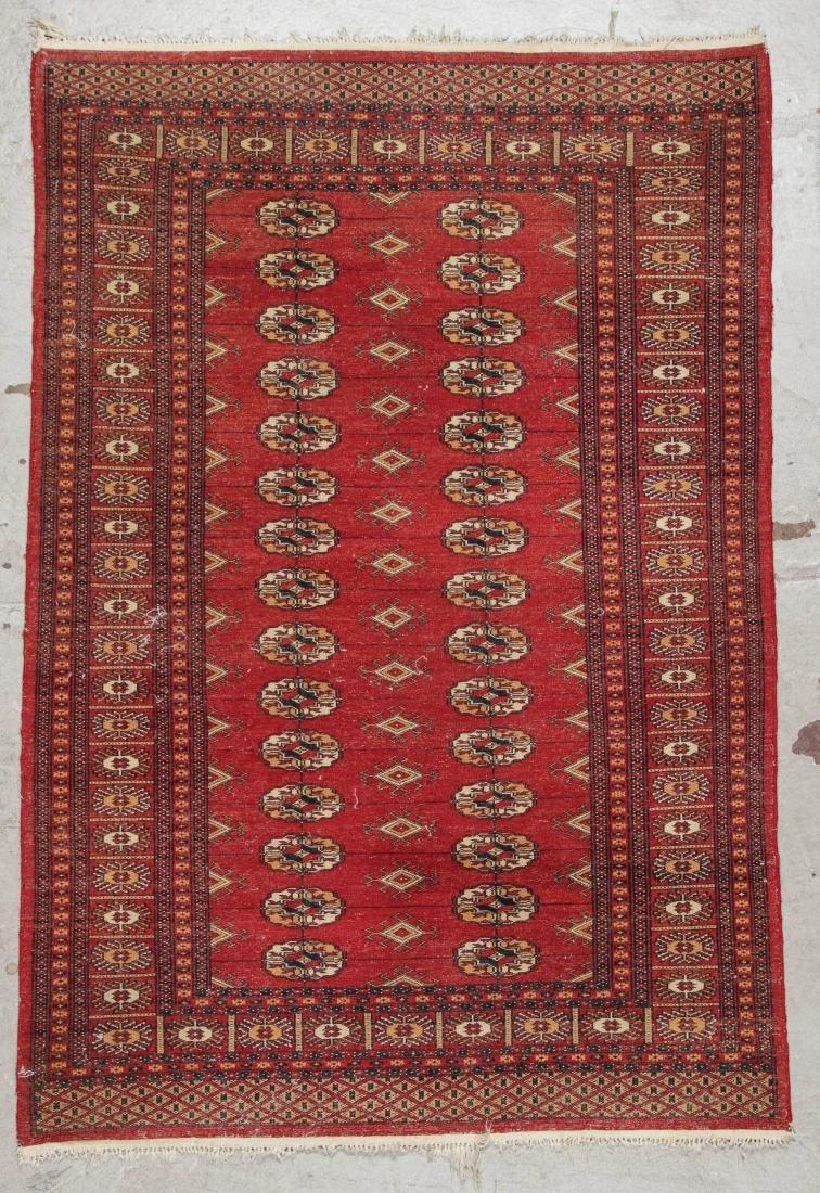 2 Vintage Bokhara Wool Rugs - 5