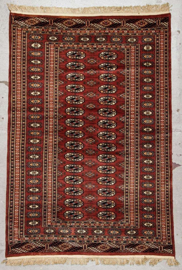 2 Vintage Bokhara Wool Rugs - 6