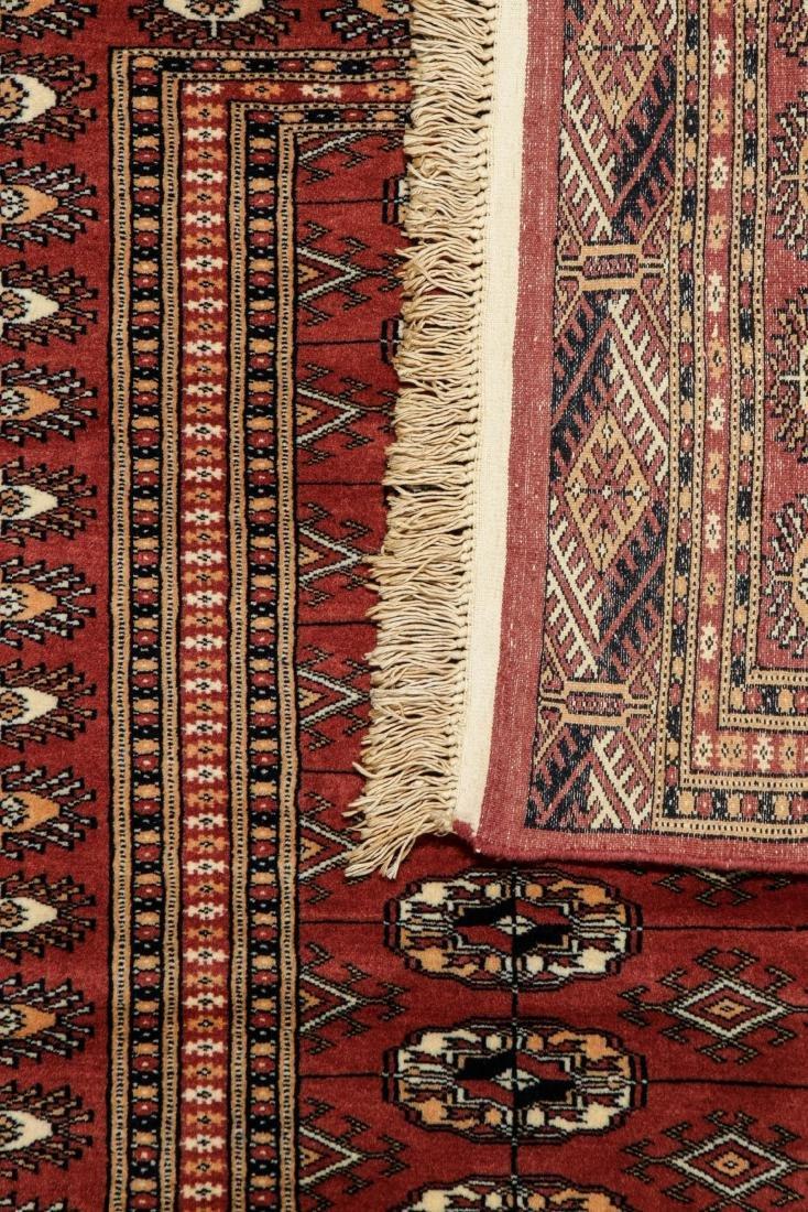 2 Vintage Bokhara Wool Rugs - 7