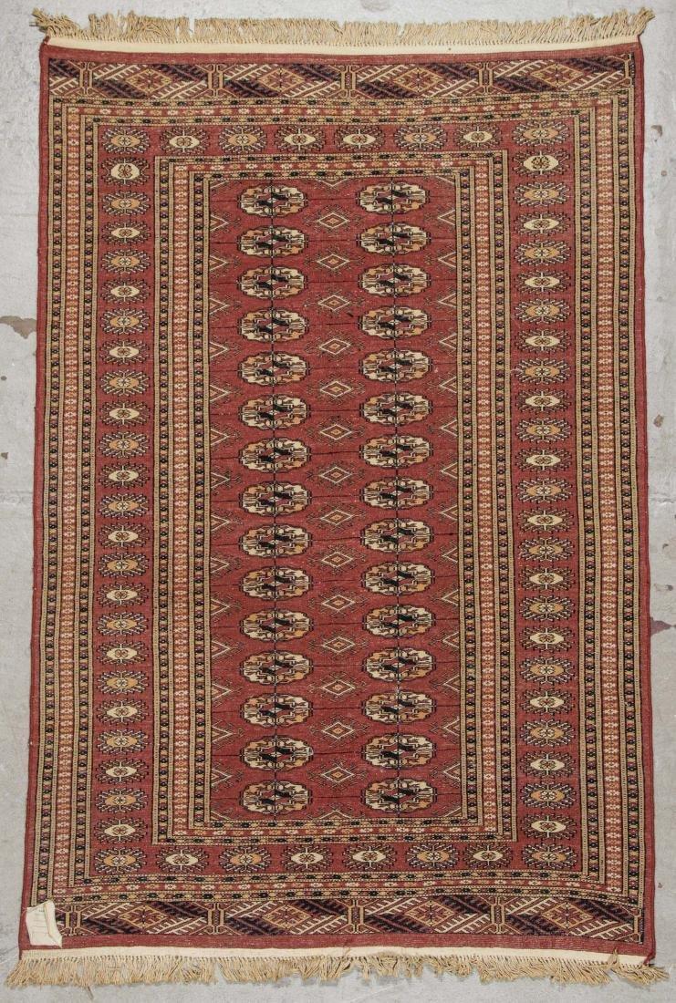 2 Vintage Bokhara Wool Rugs - 9