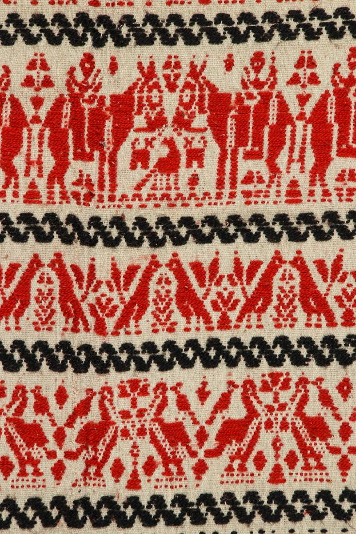 19th C. Italian or Sardinian Folk Tapestry - 2
