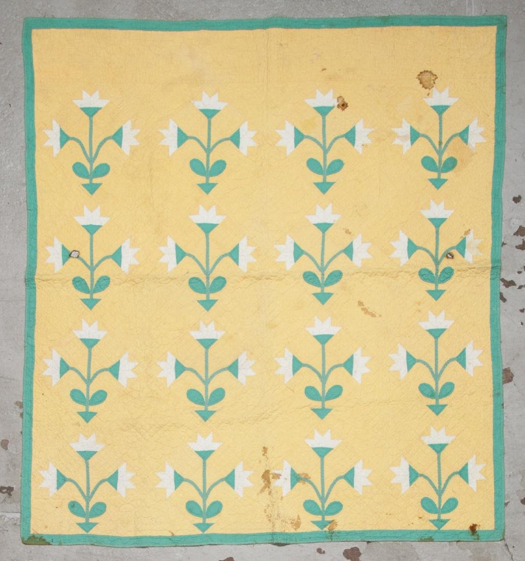 2 Antique American Quilts - 2
