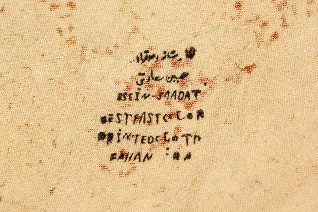 Old Persian Boteh Block Print: 88.5'' x 59'' - 5