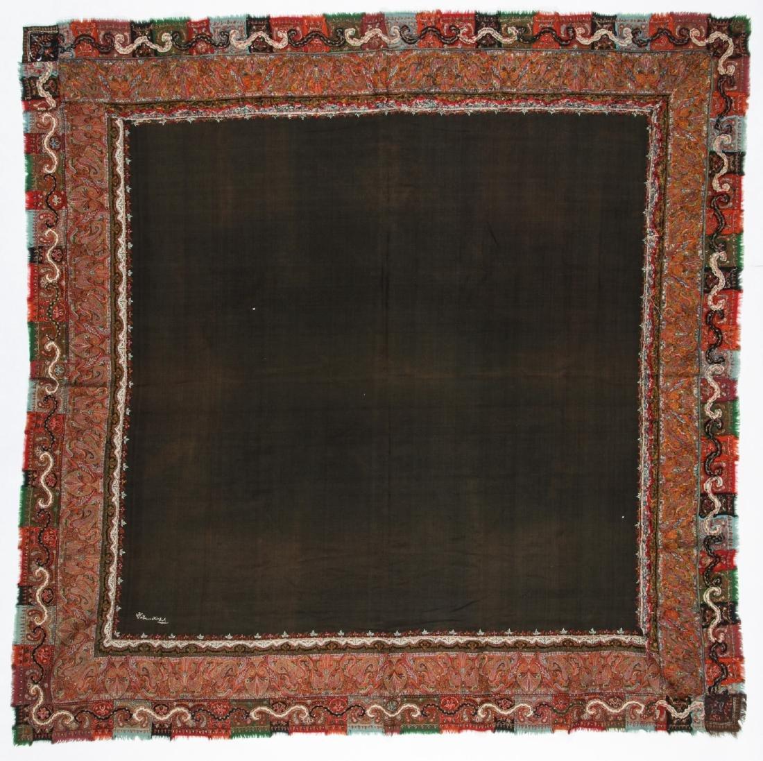 19th C. Kashmir Shawl, India