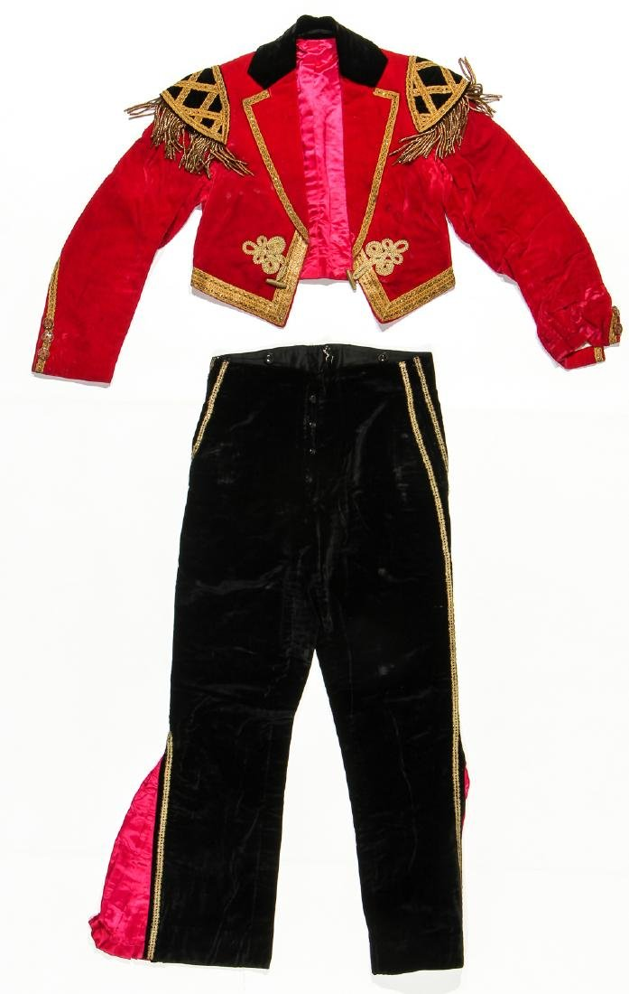 Old Bull Fighter/Matador Outfit