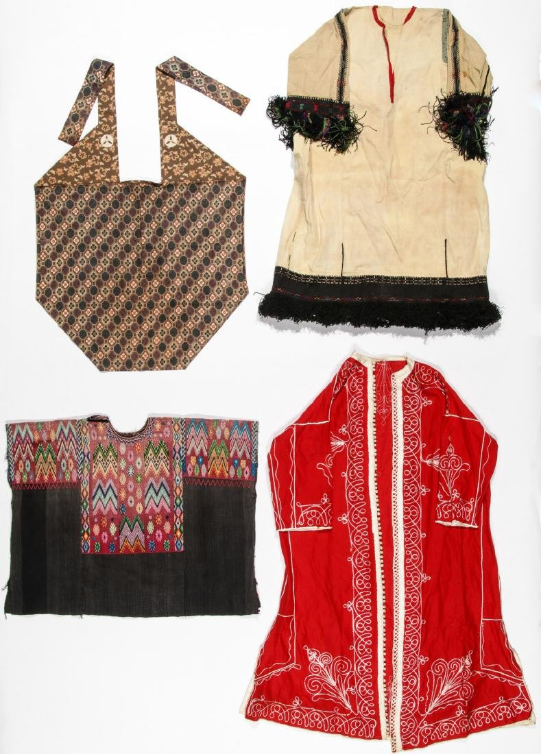 4 Mixed  Ethnographic Garments