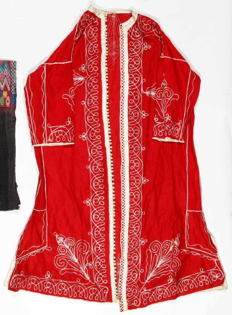4 Mixed  Ethnographic Garments - 4