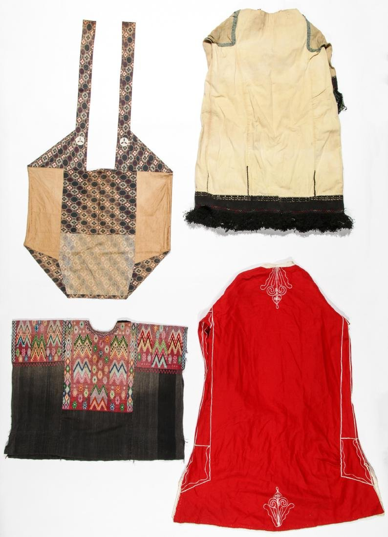 4 Mixed  Ethnographic Garments - 6