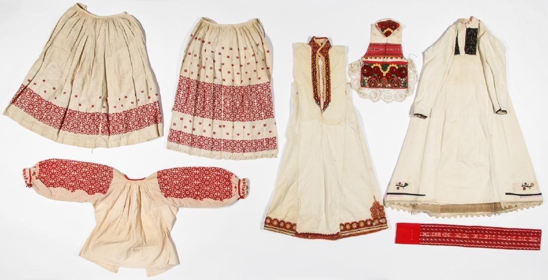 Mixed lot of Greek/Macedonian/Balkan Folk Clothing