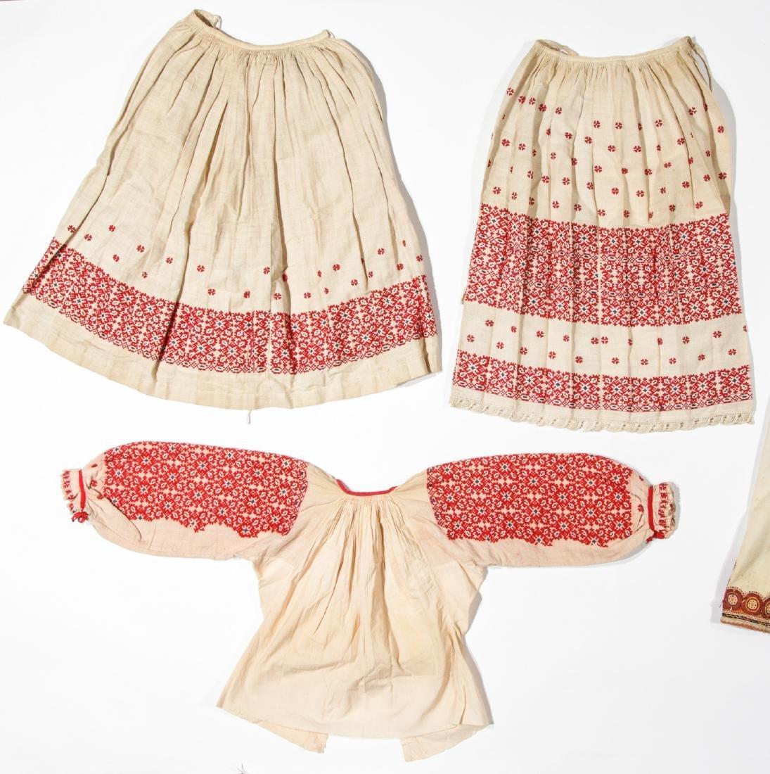Mixed lot of Greek/Macedonian/Balkan Folk Clothing - 2