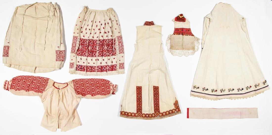 Mixed lot of Greek/Macedonian/Balkan Folk Clothing - 5
