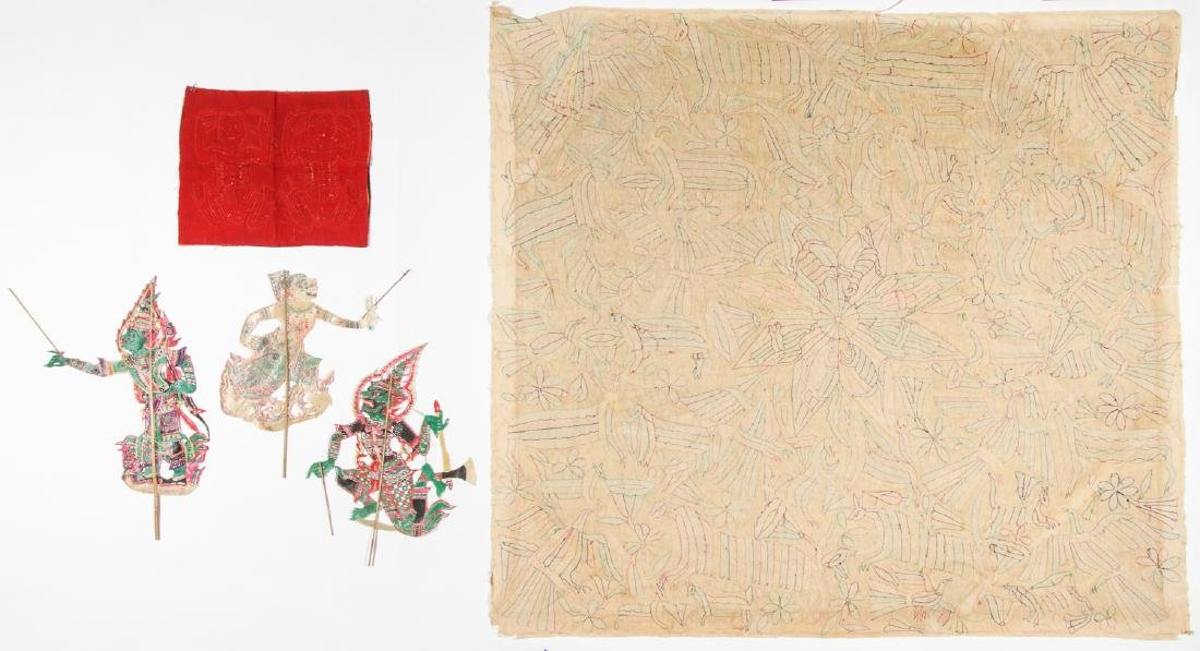 Ethnographic Lot of Textiles and Puppets - 8