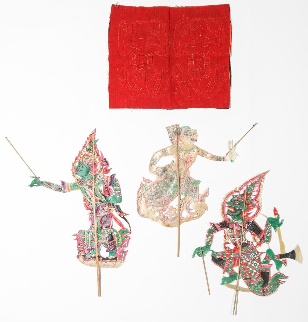 Ethnographic Lot of Textiles and Puppets - 9