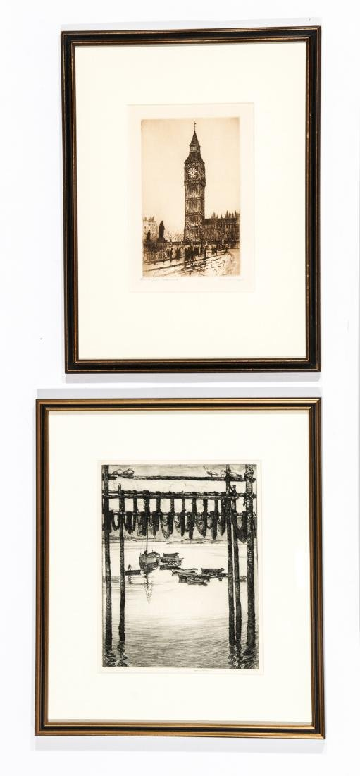 5 Framed Engravings by Unknown Artists - 2