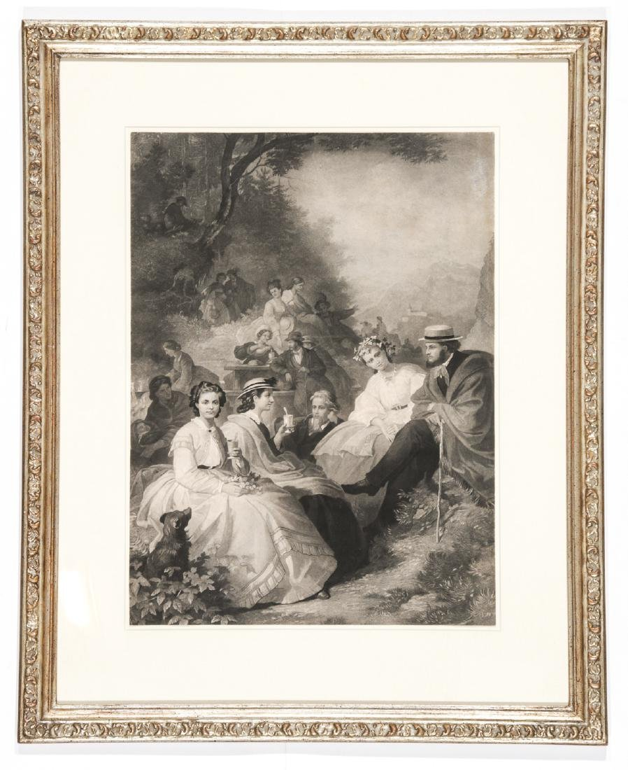 5 Framed Engravings by Unknown Artists - 3