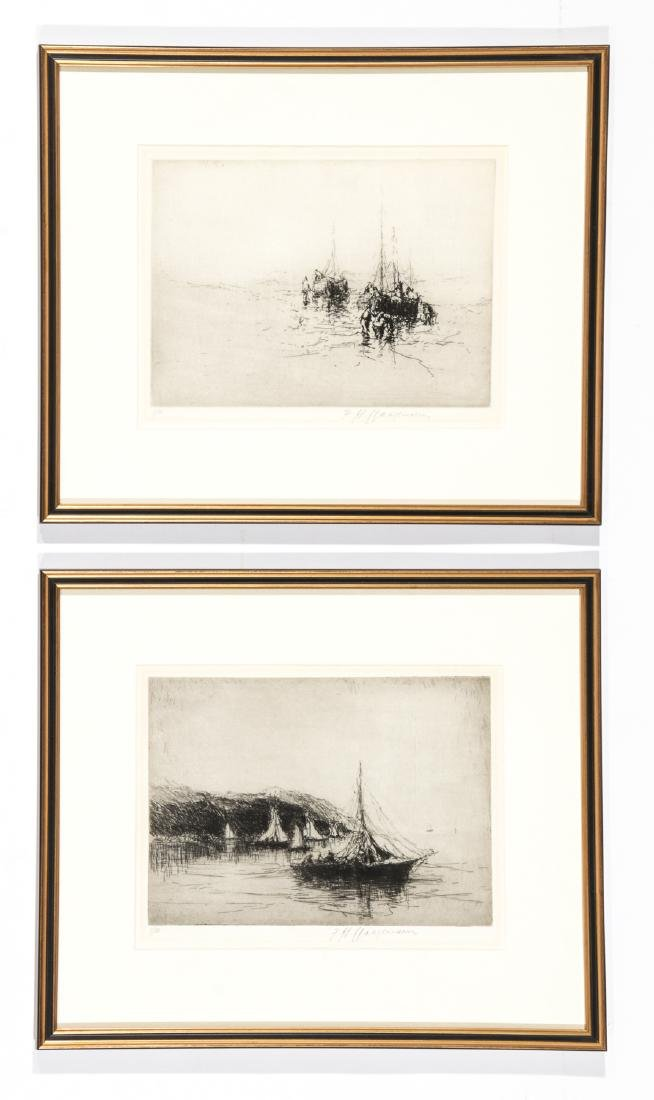 5 Framed Engravings by Unknown Artists - 4