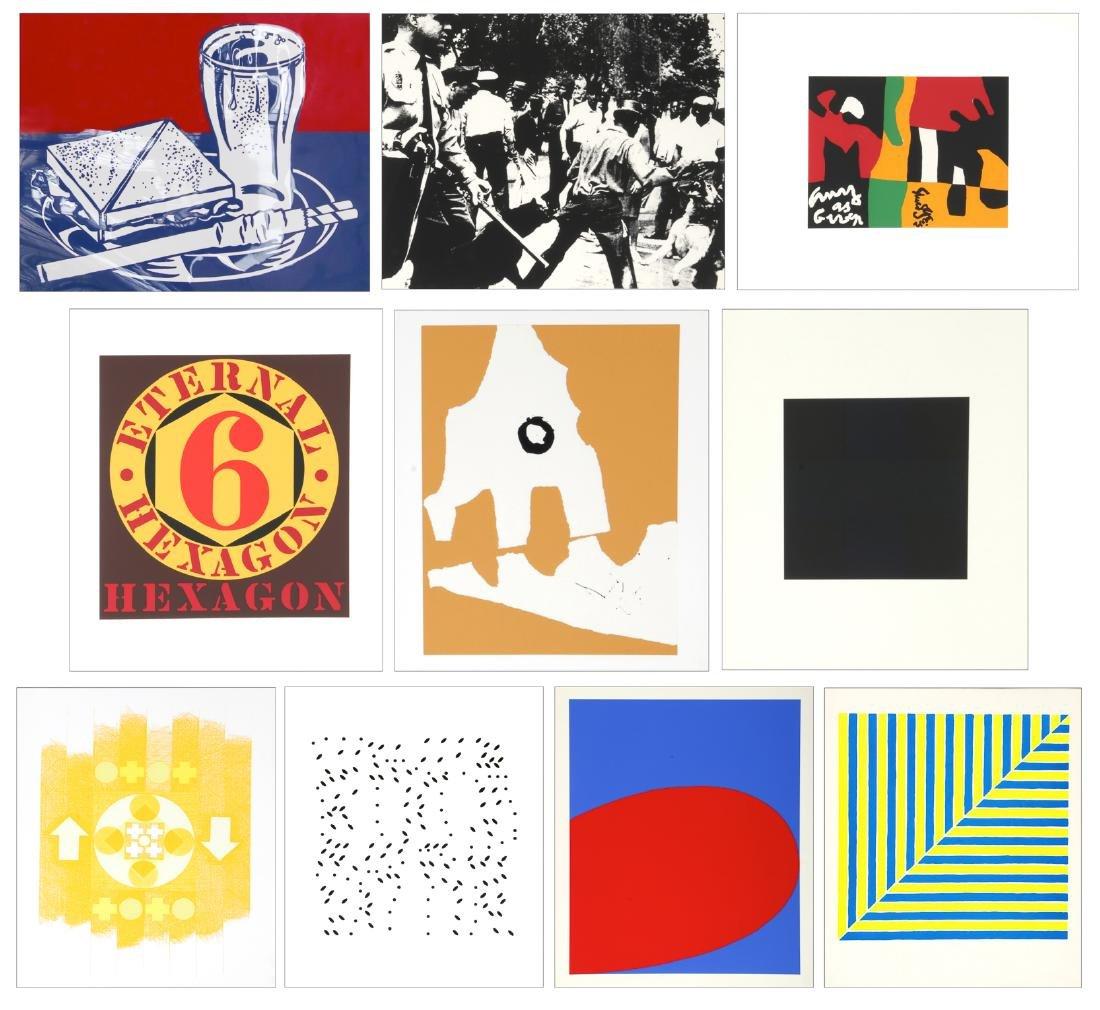 Complete Portfolio: X + X (Ten Works by Ten Painters),