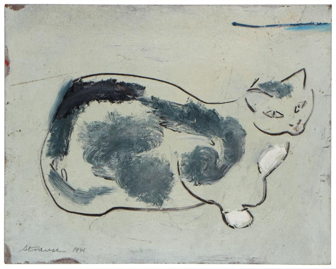 Sterling Strauser (American, 1907-1995) Cat (Punch)